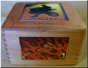 Cigar Box Art Acid Cigar Empty Box