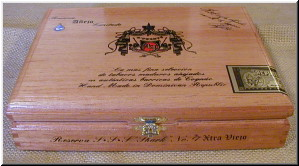 Cigar Box Art Fuente Anejo Empty Box