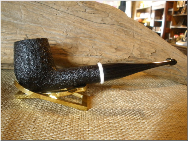 Pipe Classic Series Dark Sandblast Billiard