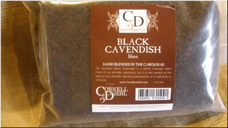 Pipe Tobaccos Black Cavendish