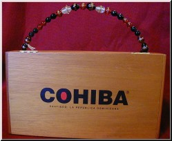 Cigar Box Art Cohiba Handbag