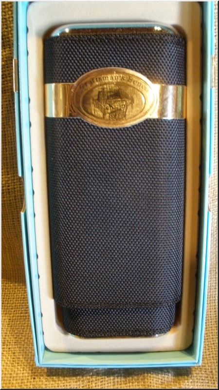 Cigar Cases Churchill 54 ring Nylon Cigar Case
