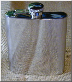 Spirit Flasks Stainless Steel Flask 4oz