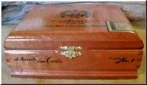Cigar Box Art Fuente Don Carlos Empty Box