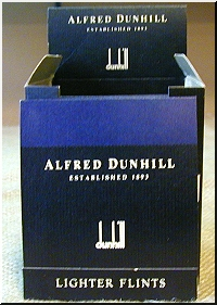 Lighter Flints Blue Flint. For All dunhill Dress, Gemline, Sylphide and Unique Lighters