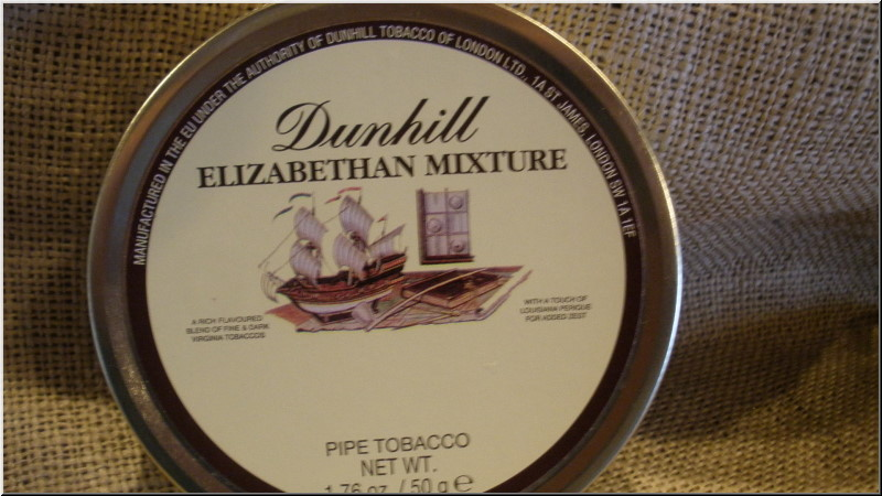 Pipe Tobaccos Elizabethan Mixture