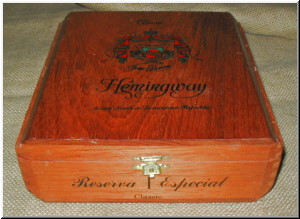Cigar Box Art Fuente Hemingway Classic Empty Box