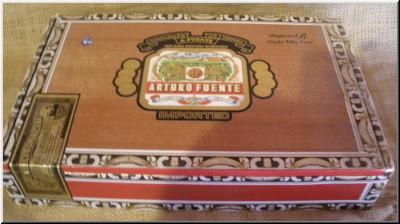 Cigar Box Art Fuente Magnum R Vitola cigar empty box