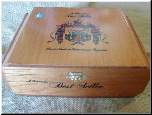 Cigar Box Art Fuente Hemingway Best Seller Empty Box