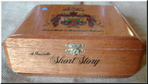 Cigar Box Art Fuente Hemingway Short Story Empty Box