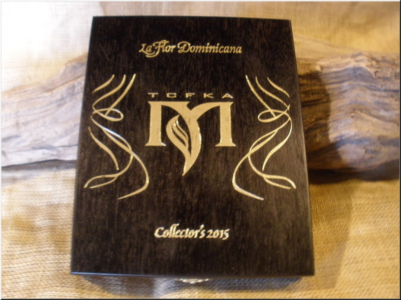 Cigar Box Art La Flor Dominicana TCFKA Collector�s 2015 Empty Box