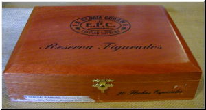 Cigar Box Art La Gloria Cubana Reserva Figurado Empty Box