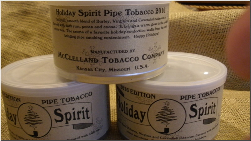 Pipe Tobaccos Holiday Spirit