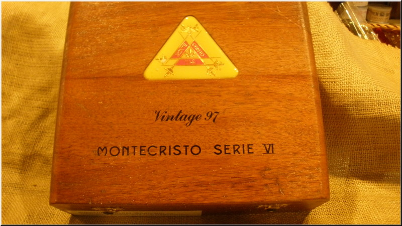 Cigar Box Art Montecristo Serie VI 1997 Empty Box