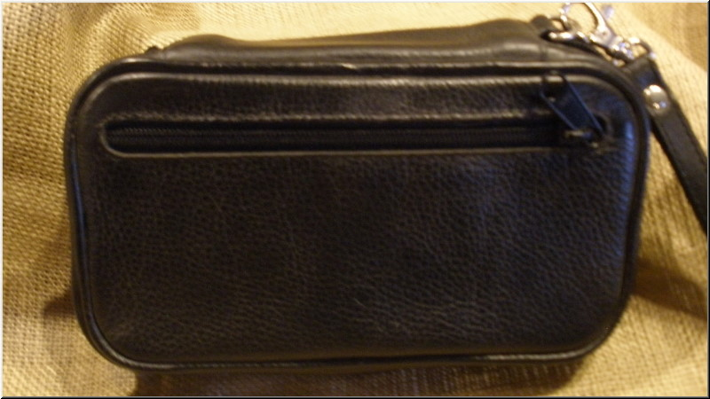 Martin Wess Design Pipe and Tobacco Bags #P35/3I 3-Pipe case