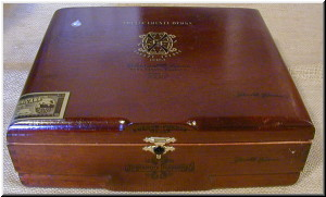 Cigar Box Art Fuente Fuente Opus X Empty Box