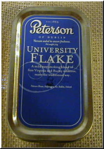 Pipe Tobaccos University Flake