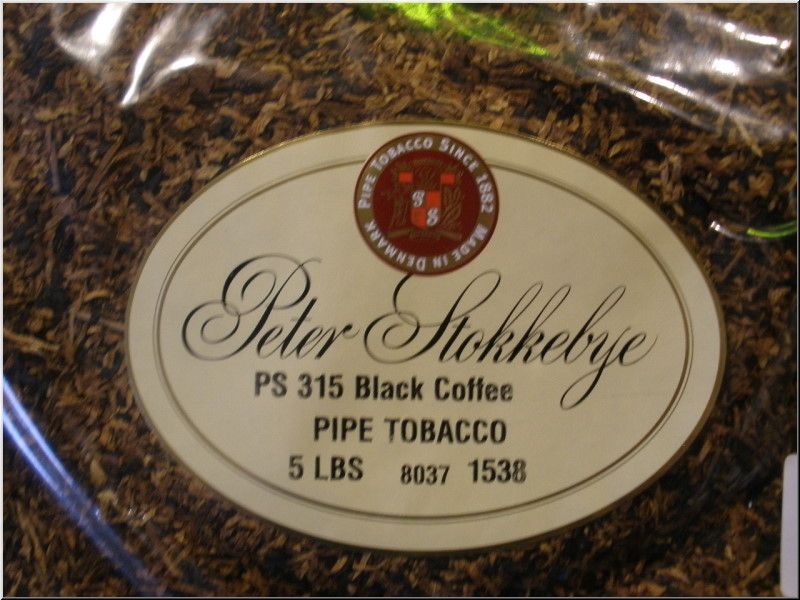 Pipe Tobaccos Black Coffee