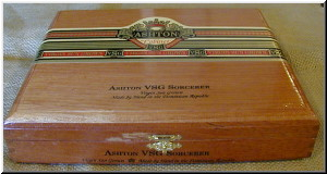 Cigar Box Art Ashton VSG Empty Box