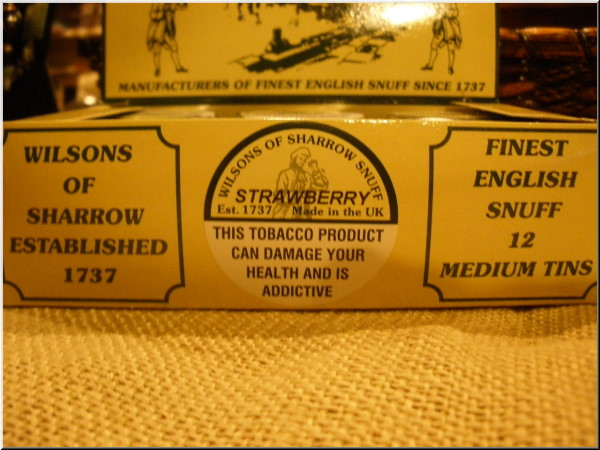 Wilsons of Sharrow Nasal Snuff